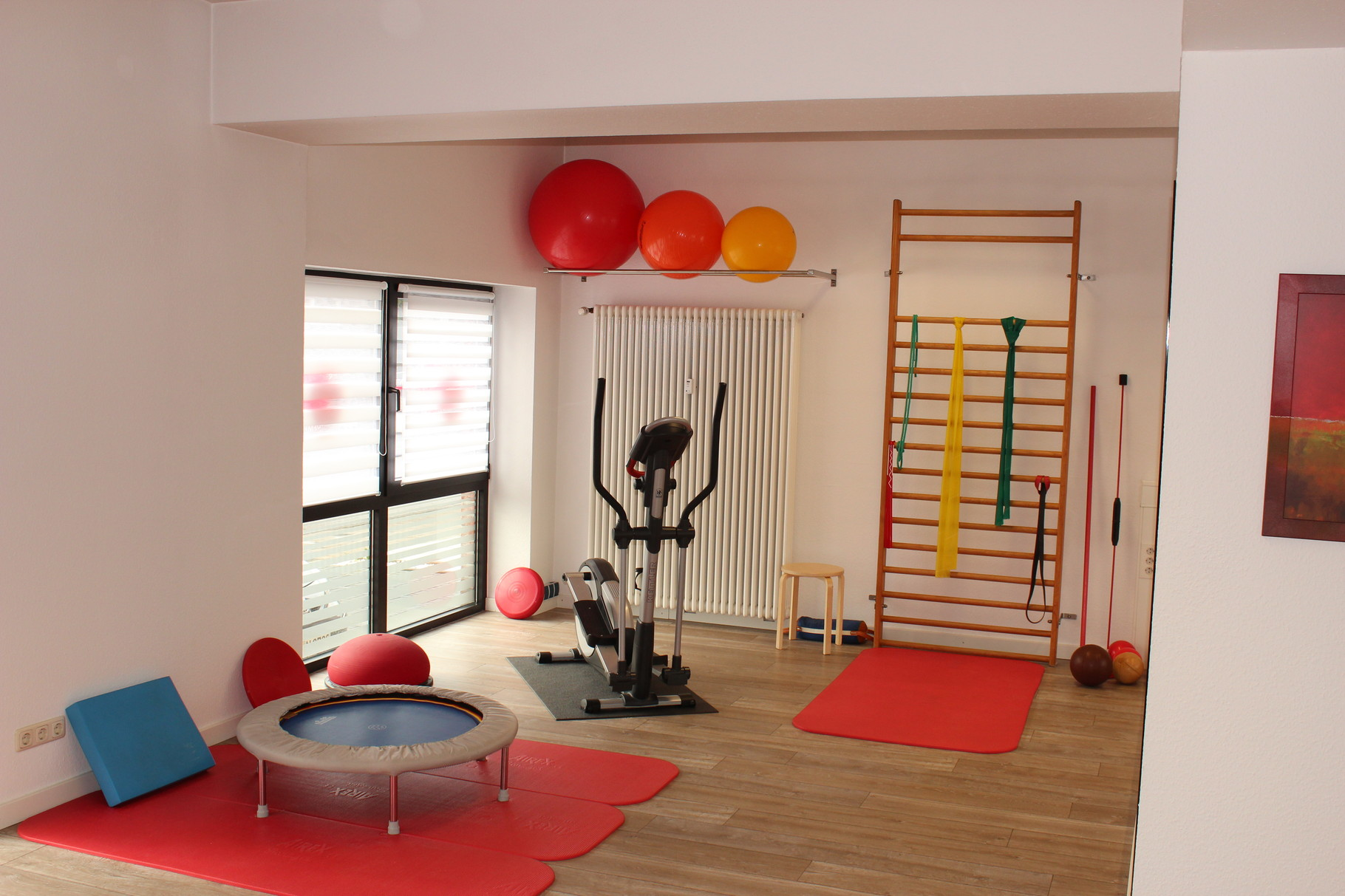 Krankengymnastik- und Präventionsraum