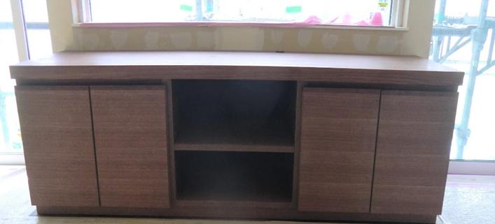 TV台 ウォールナット オイル塗装 W1800×D500×H500 ¥235,000税別