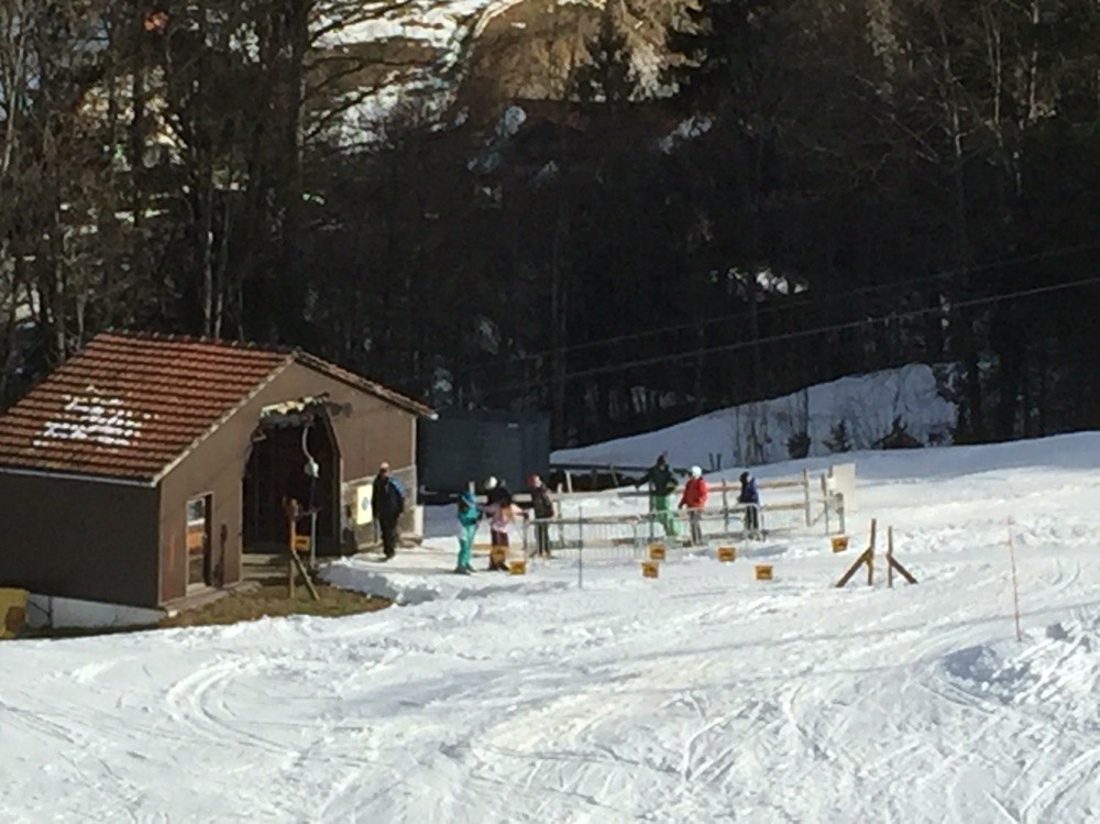 Skilift Fussmatte