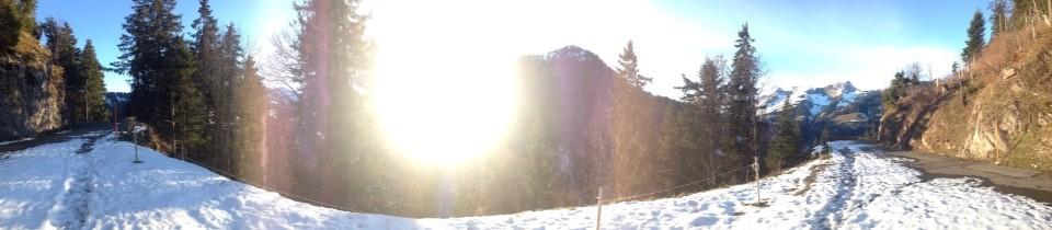 Panoramablick Abländschen-Jaun