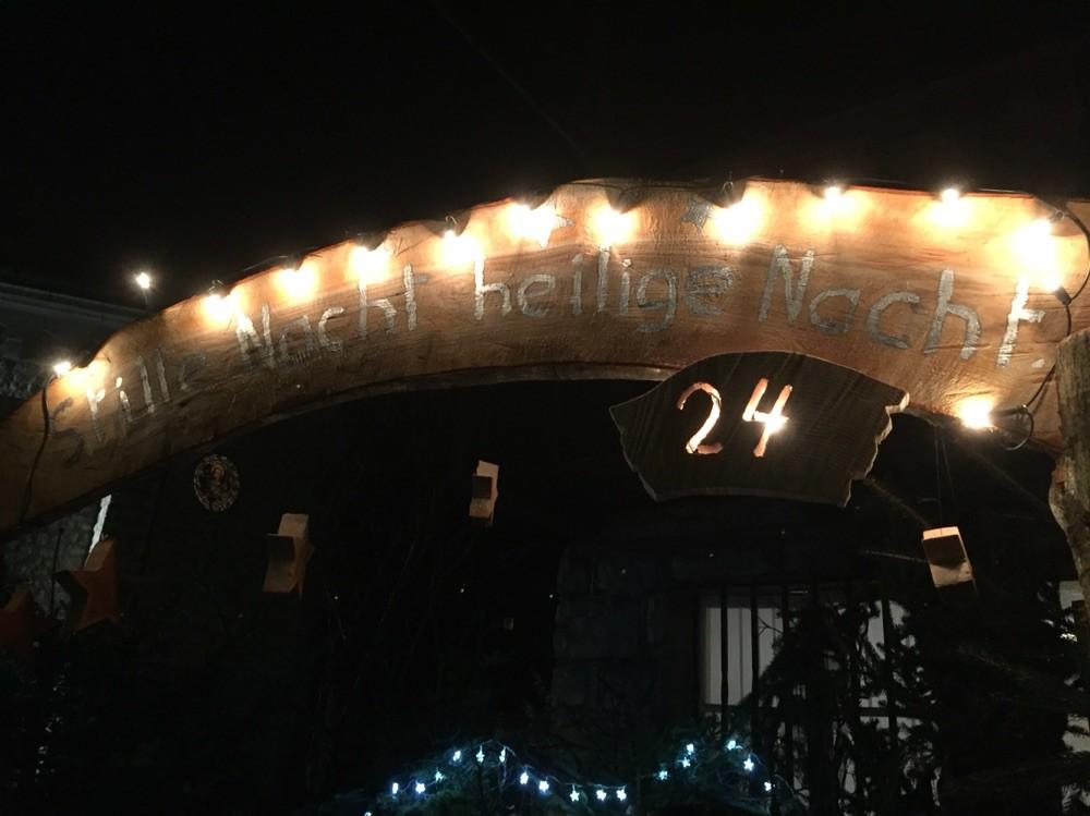 Adventsfenster 2015 Pfarrei Jaun, Dorfstrasse 3, Jaun