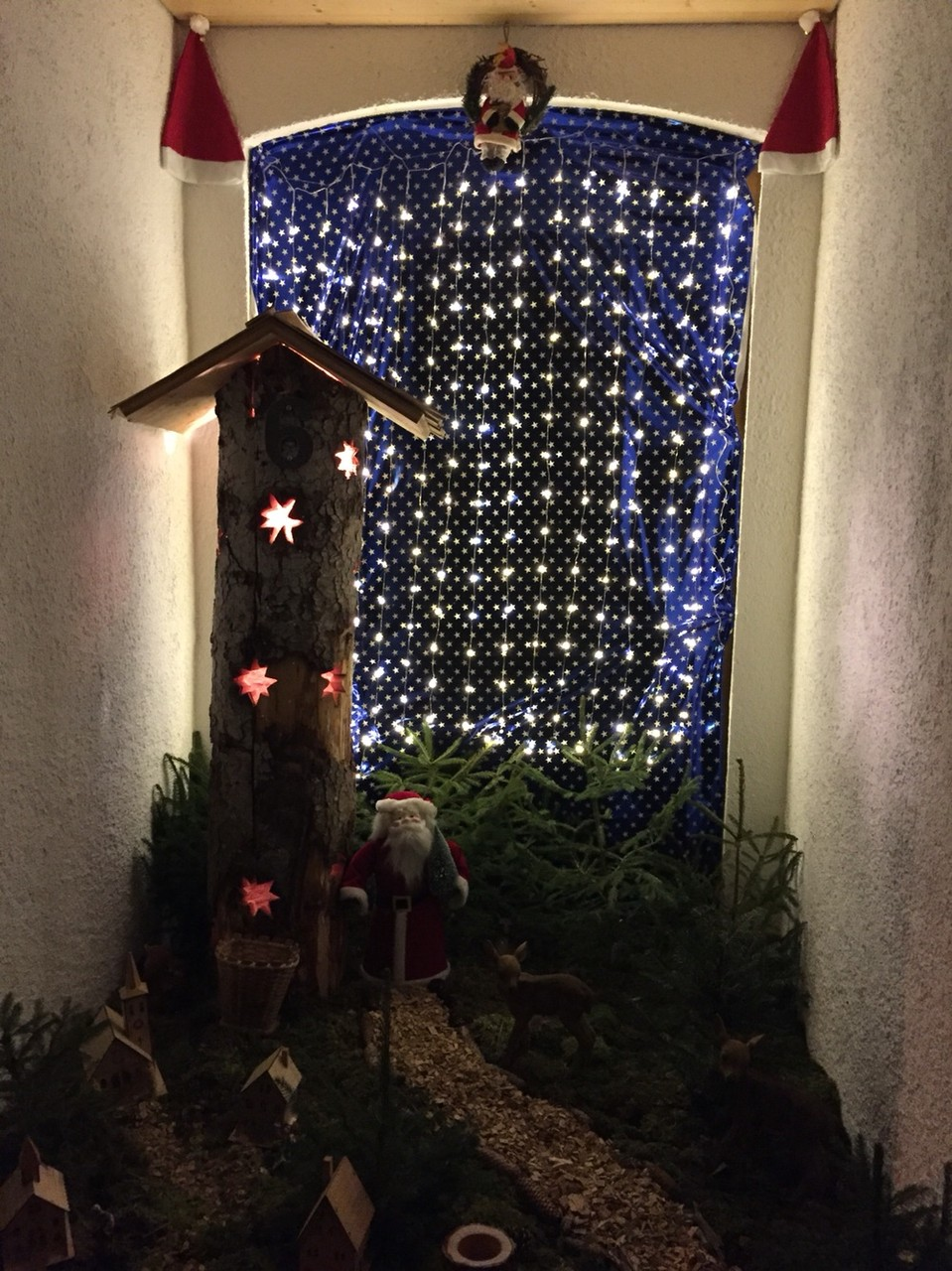 Adventsfenster 2015 Thürler Yvonne, Tossenstrasse 26, Im Fang