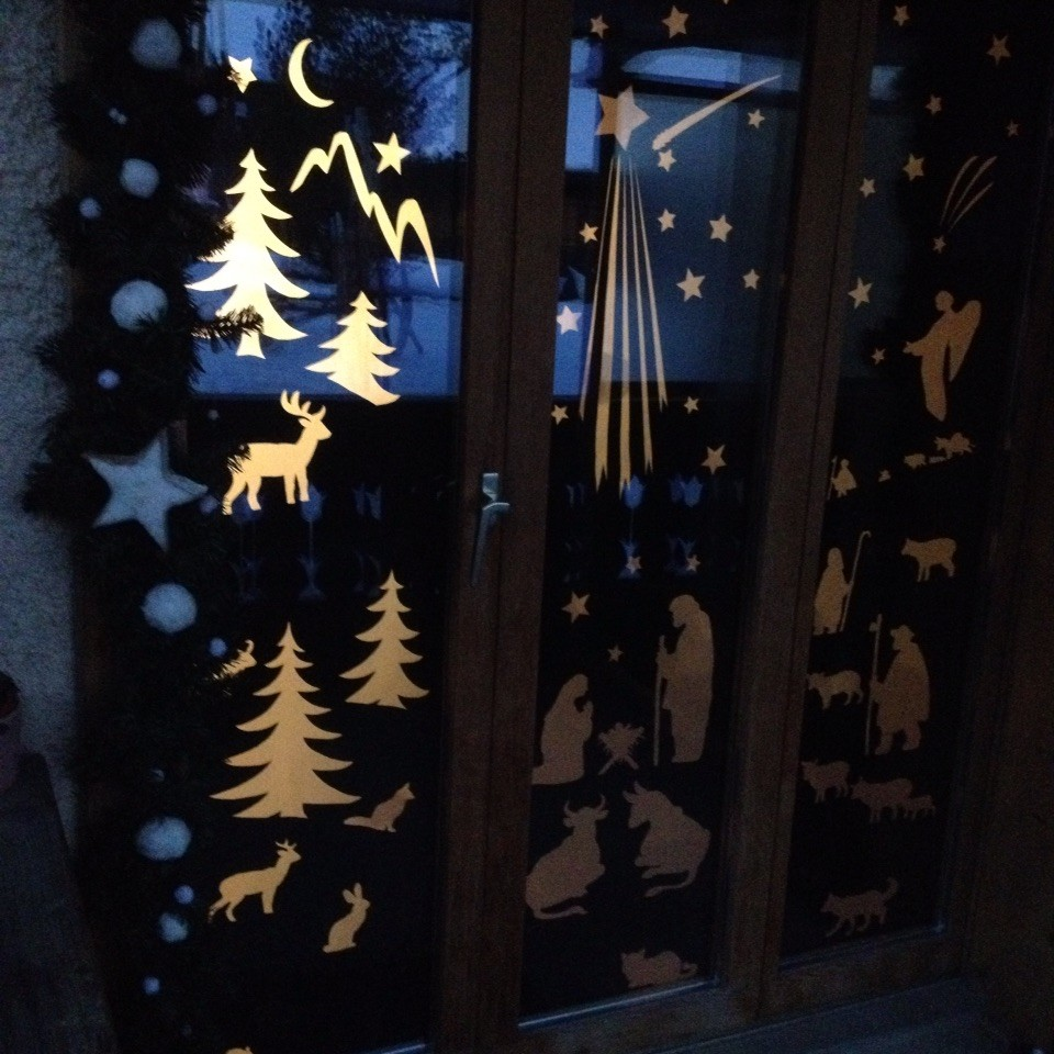 Adventsfenster 2015 Marie-Luis Jaggi, Hauptstrasse 81, Im Fang