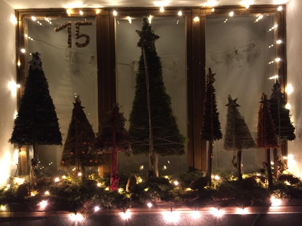 Adventsfenster 2015 Madeleine Buchs, Janseggstrasse 91, Jaun