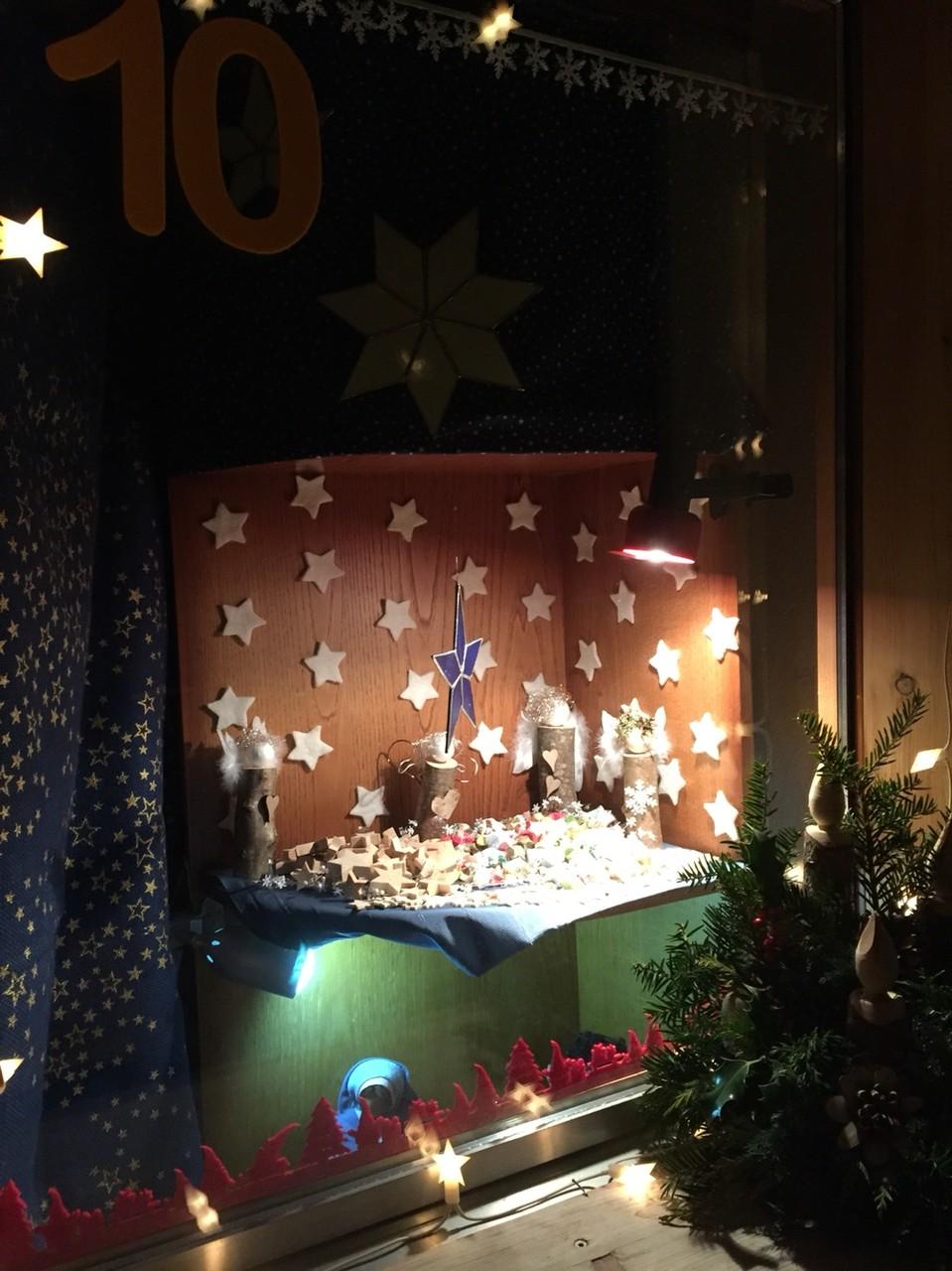 Adventsfenster 2015 Silvia Buchs, Kappelboden 501, Jaun