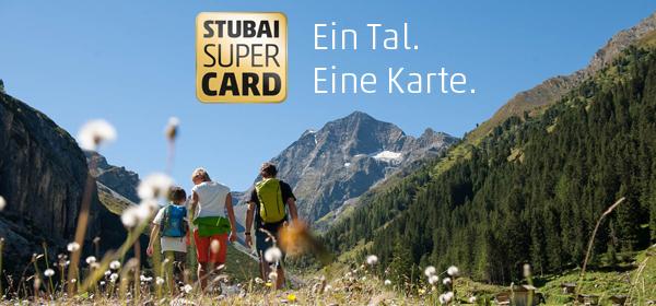 NEU AB SOMMER 2021 - STUBAI SUPER CARD