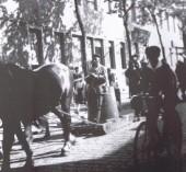 """Festumzug 1930 mit der """"Feuertine"""""""
