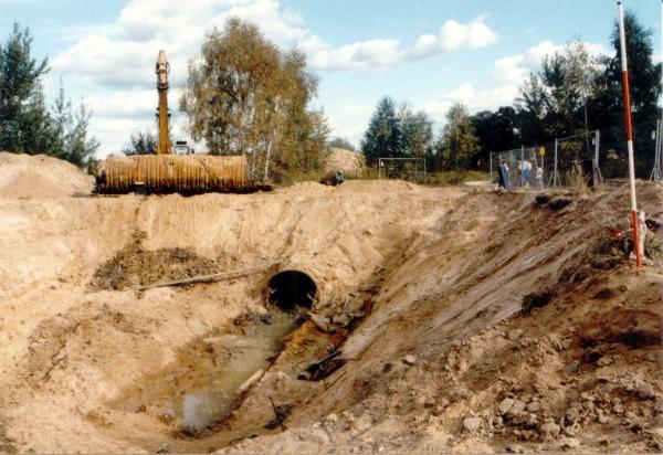 Bergung des Tunnels 09/1997
