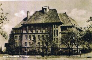Die Schule am Berg im Jahr 1950-1955