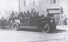 Fahrt in der Grünauer Straße