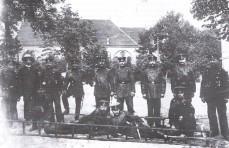 Bau des Steigerturms 1903