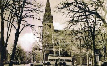 Im Jahre 1950-1955 Dorfkirche