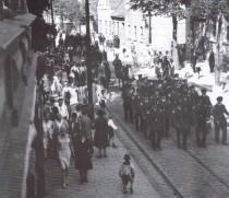 Festumzug 4.Mai 1930 in der Köpenicker Str.