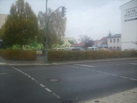Heute : ein Parkplatz