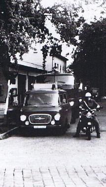 Fertig zum Abmarsch 1988