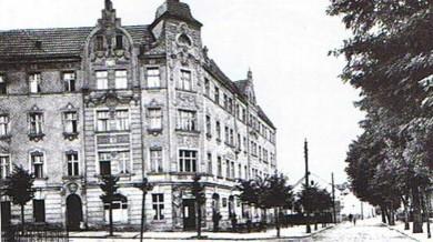 Früher :  Restaurant zum fidelen Zecher (Normannenstr)