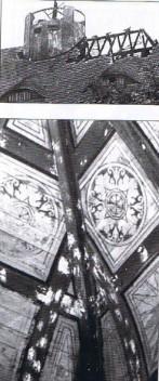 Dachstuhl und Aula 1981