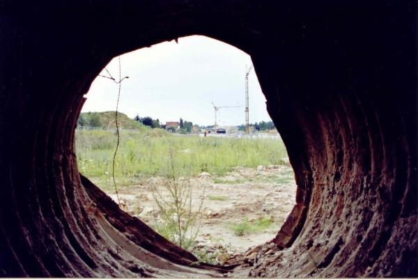 Bergung des Tunnels 08/2005