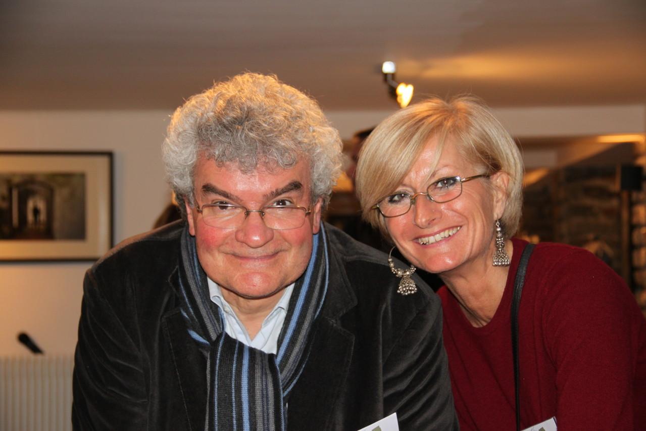 Thierry Citron et la Présidente