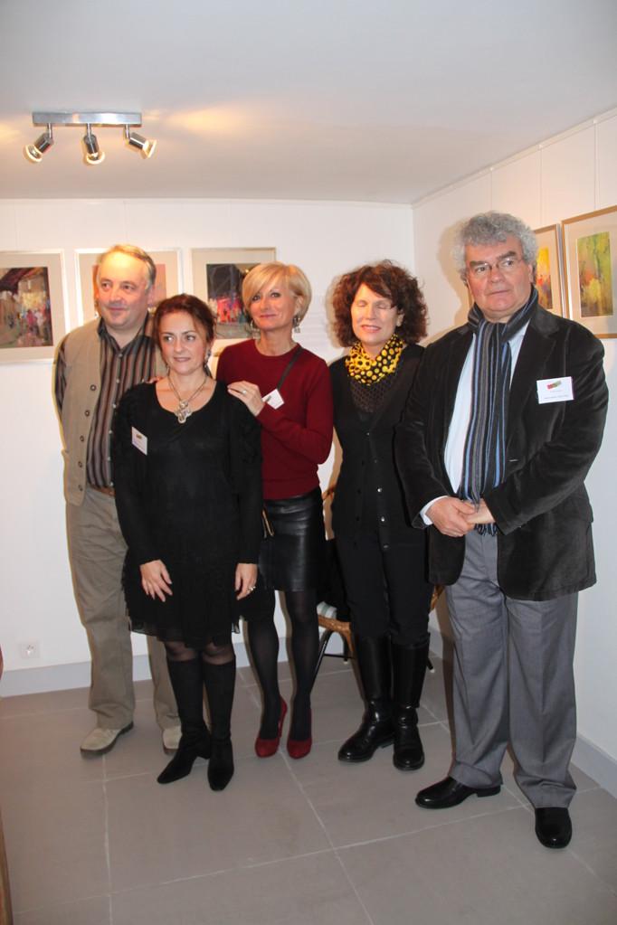 Sophie Ducomte, Jean-Claude Lemée, la Présidente, Laura Taily, Thierry Citron