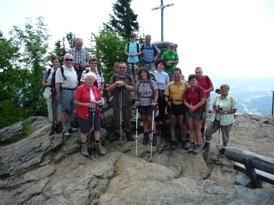 Am Gipfel des Falkenstein