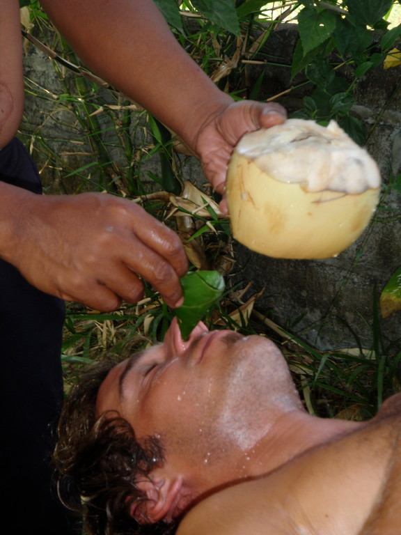coconut cleaning