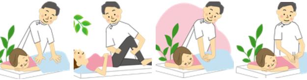 生活リハビリ 関節可動域訓練 整体 マッサージ 鍼灸治療