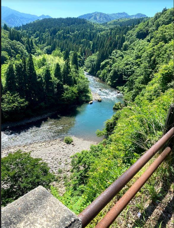 滝谷森林公園 赤谷