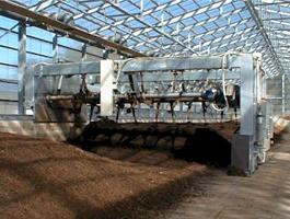 品質管理型堆肥自動混合かくはん装置