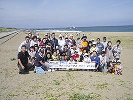 クリーンビーチ&リバーinかが(社会活動)