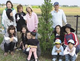 環境活動 植樹