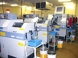 CNC複合加工自動旋盤