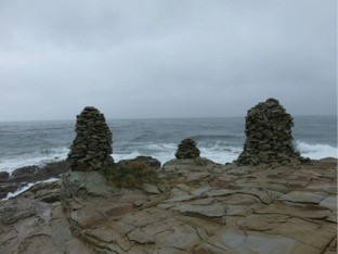 五根諸の石塔