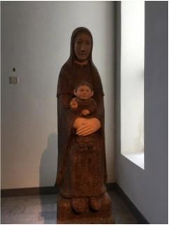 横尾龍彦作 聖母子像