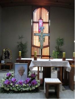 カトリック所沢教会の祭壇