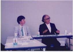 1998年6月「神戸からの祈り」記者会見 鎌田先生と大重監督