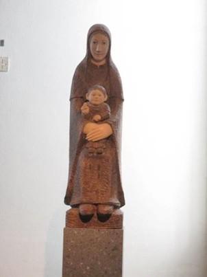 横尾龍彦画伯作 聖母子像