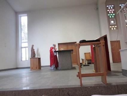 3月20日トマス神父による弥撒
