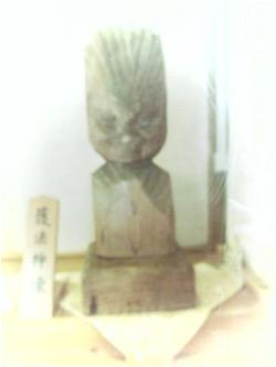 栃尾観音堂の円空仏(護法童子像)