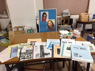 吉田さん、岡野さんの写真。1999年~2015年夏合宿資料・感想文集