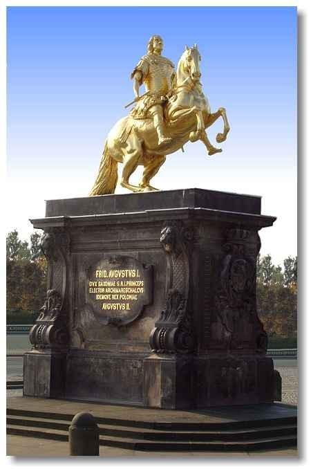 """Goldener Reiter """"August der Starke"""""""