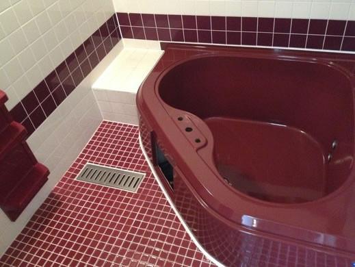 浴室の光沢復元コーティング
