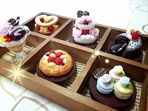 ケーキBOX☆パテシエ(全てマグネット付)