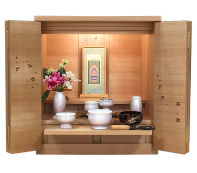桜+Bセット+スタンド掛軸