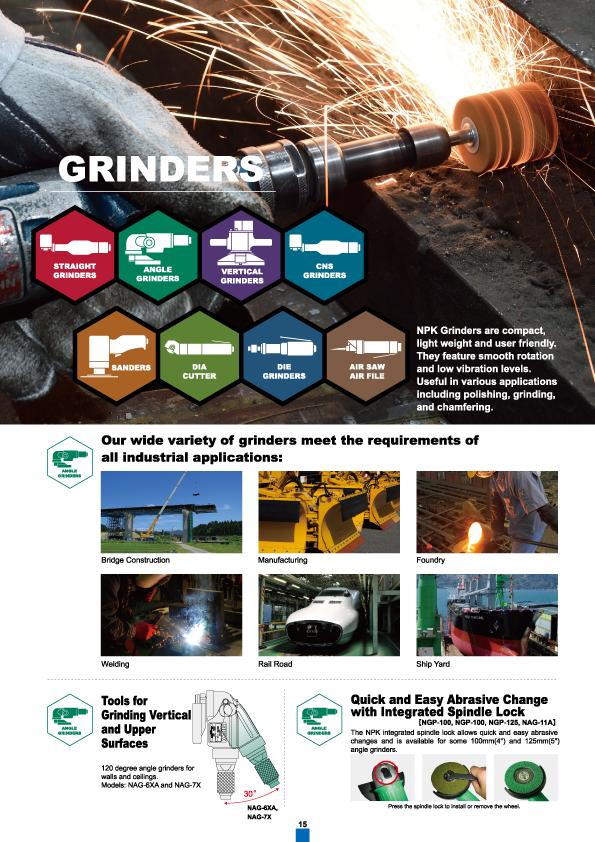 Grinder, NPK, Nippon Pneumatic