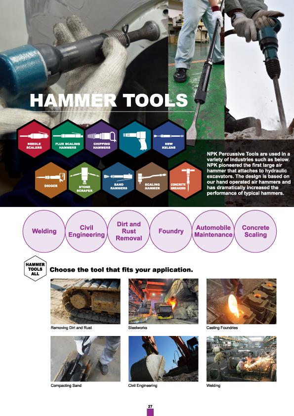 Hammer, NPK, Nippon Pneumatic, Air Tools