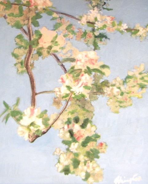 1987 Apfelblüten