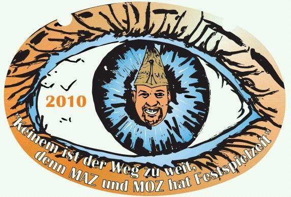 2010: Keinem ist der Weg zu weit, denn MAZ und MOZ hat Festspielzeit.