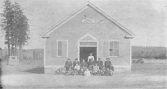 The Yellow School House Lincoln & Forker (burned down in 1939)