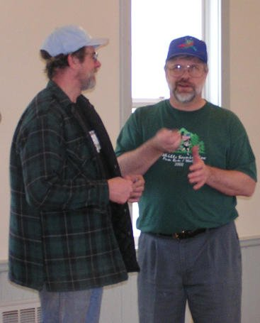 Rich and Mike discussing important items!